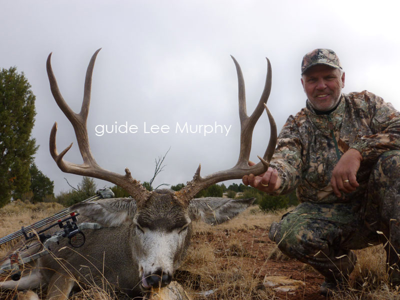 Arizona Over-the-Counter Archery Mule Deer taken with guide Lee Murphy.